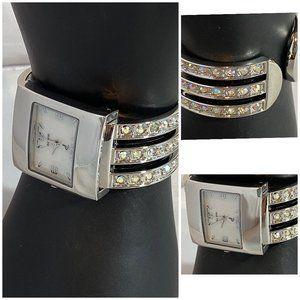 Women's Cuff Fashion Wrist Watches Lot of 3